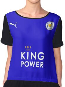 Leicester City F.C. Logo Chiffon Top