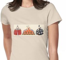 ROCOCO LADIES ART DECO FASHION COSTUME DESIGN Womens Fitted T-Shirt