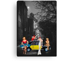 TO THE MUSEUM Canvas Print