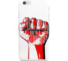 muse uprising fist iPhone Case/Skin