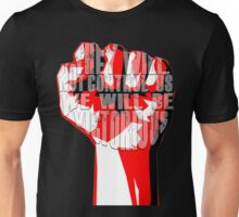 muse uprising fist Unisex T-Shirt