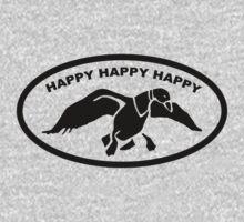 Happy happy happy One Piece - Short Sleeve