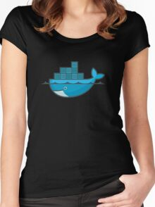 Docker Women's Fitted Scoop T-Shirt