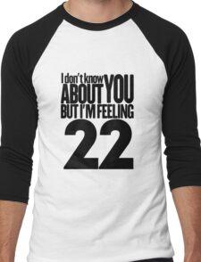 Taylor Swift 22 T Shirt Men's Baseball ¾ T-Shirt