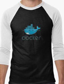 Docker Men's Baseball ¾ T-Shirt