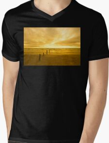 Sunset on Sauble Beach Mens V-Neck T-Shirt