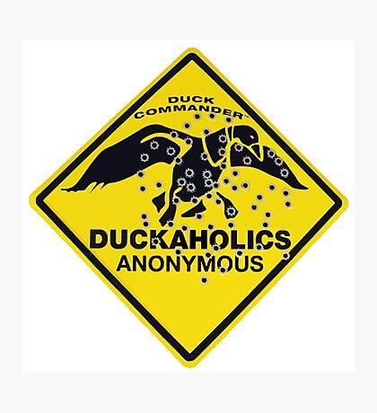 Duckaholics Anonymous Photographic Print