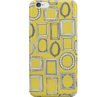 picture frames yellow iPhone Case/Skin