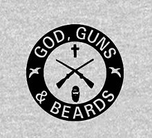 God Guns Beards Hoodie
