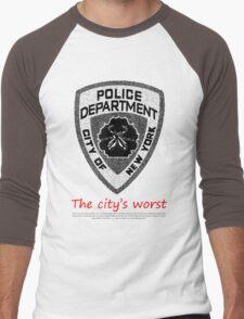 The City's Worst Men's Baseball ¾ T-Shirt