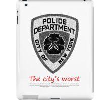 The City's Worst iPad Case/Skin