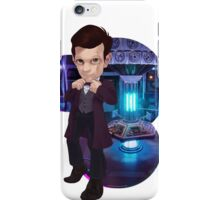 Just a mad man in a box iPhone Case/Skin