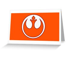 Rebel Alliance- Resistance  Greeting Card