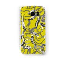 monkey chartreuse Samsung Galaxy Case/Skin