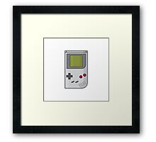 Gameboy Classic Framed Print