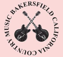 Bakersfield California Country Music (Black) One Piece - Long Sleeve