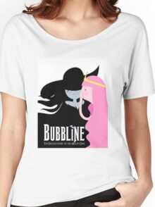 Bubbline Adventure Time Wicked Women's Relaxed Fit T-Shirt