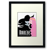 Bubbline Adventure Time Wicked Framed Print