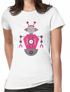 a humanoid 4 Womens Fitted T-Shirt