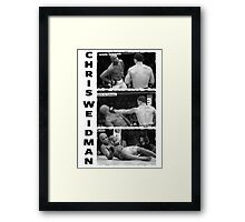 Chris Weidman Framed Print