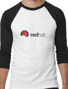 RedHat Linux Men's Baseball ¾ T-Shirt
