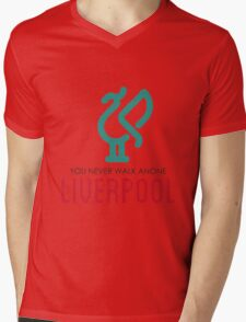 LIVERPOOL JERSEY Mens V-Neck T-Shirt