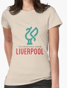 LIVERPOOL JERSEY Womens Fitted T-Shirt