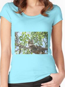 Mishu in Pear Tree Women's Fitted Scoop T-Shirt
