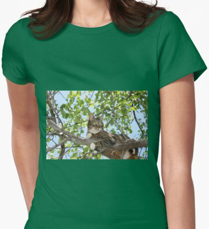 Mishu in Pear Tree Womens Fitted T-Shirt