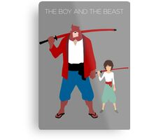 The boy and the beast - Father and son  (Wall art and shirts) Metal Print