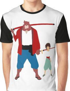 The boy and the beast - Father and son  (Wall art and shirts) Graphic T-Shirt