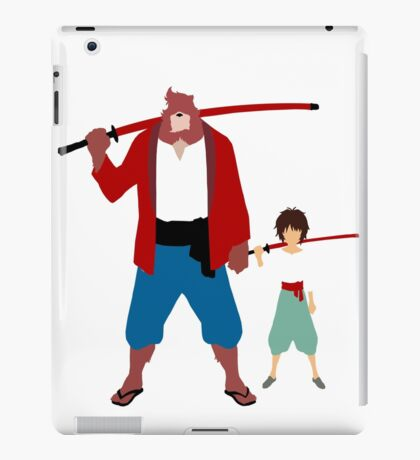 The boy and the beast - Father and son  (Wall art and shirts) iPad Case/Skin