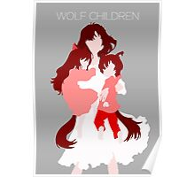 Wolf Children (Wall art and shirts) Poster