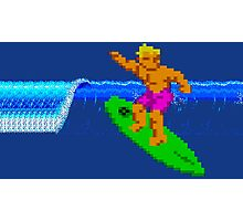 CALIFORNIA GAMES SURFING Photographic Print