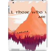 Lord of The Rings Transparent iPad Case/Skin