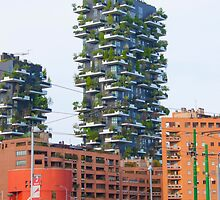 bosco verticale. vertical forest. Milan. by terezadelpilar~ art & architecture