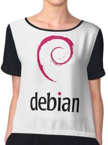 Debian Linux Chiffon Top
