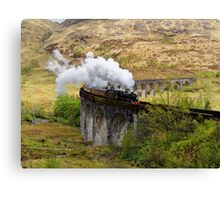 Glenfinnan Steam Canvas Print