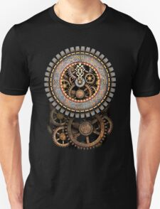 Vintage Steampunk Clock (Stopped at Midnight!...OO-Er!!) Unisex T-Shirt