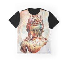 Dakini Goddess Copper Mirror Graphic T-Shirt