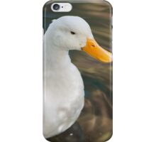 duck on lake iPhone Case/Skin