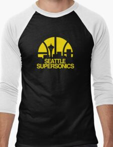 SEATTLE SUPERSONICS BASKETBALL RETRO T-Shirt