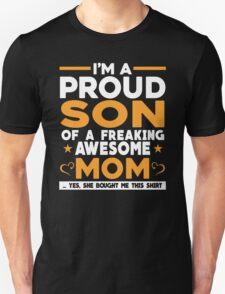 I'M A PROUD SON Unisex T-Shirt