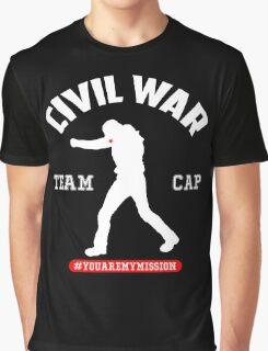 #YOUAREMYMISSION - TEAM CAP Graphic T-Shirt
