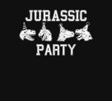 Jurassic party raptors Unisex T-Shirt