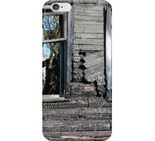 empty window burnt house iPhone Case/Skin