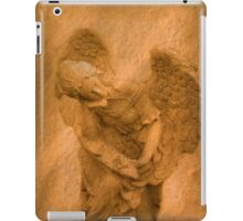 Vintage Angel Thinking of You (with poem) iPad Case/Skin