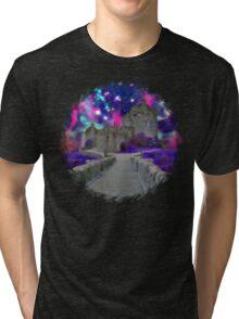 Space Castle Tri-blend T-Shirt