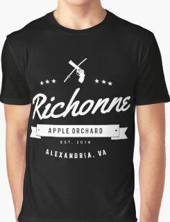 Richonne - Rick & Michonne (Dark) Graphic T-Shirt