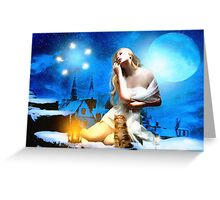 It's a magical Night Greeting Card